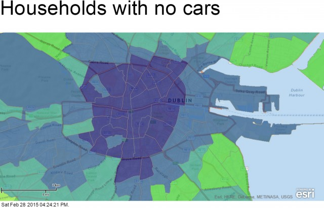 Households with no cars