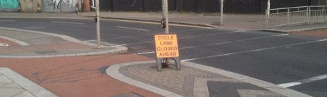 Where credit is due: Cycling handled well at road works