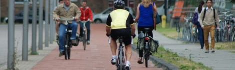 """""""Cycle tracks will abound in Utopia"""" -- but they need to abound our universities first"""